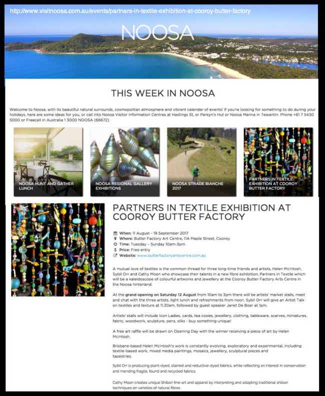 I am thrilled to appear in This Week In Noosa