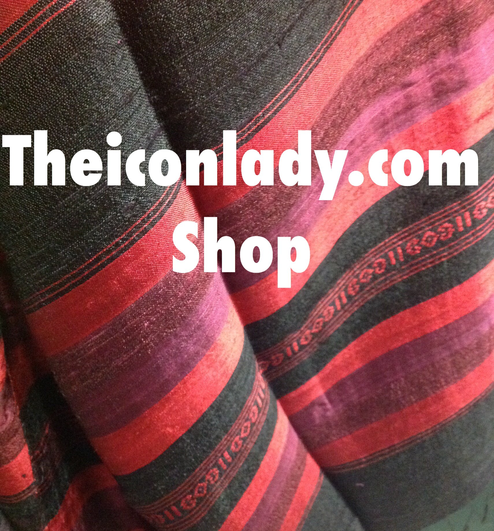 Picture show handwoven silk from Thailand available in Australia now in my new Silk Shop