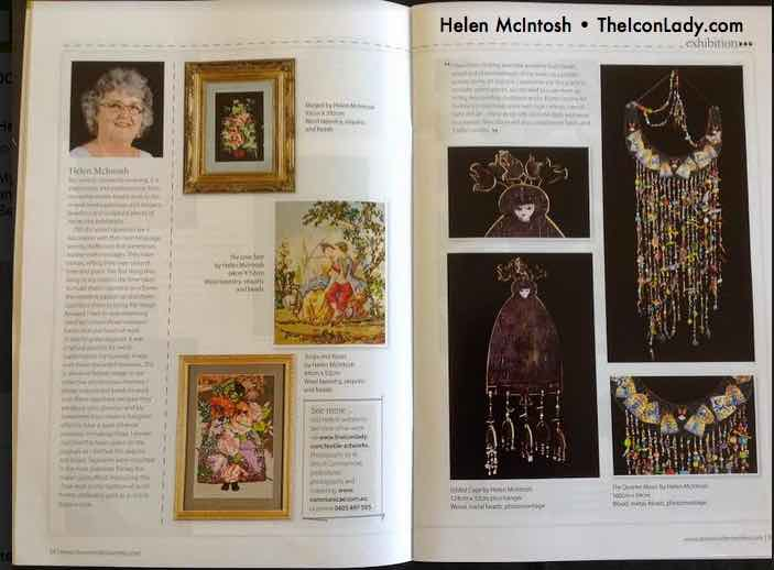 My five minutes of fame in the recent edition of Down Under Textiles